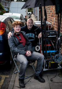 Neil Hillman Sound Mixer with Jonny Boom