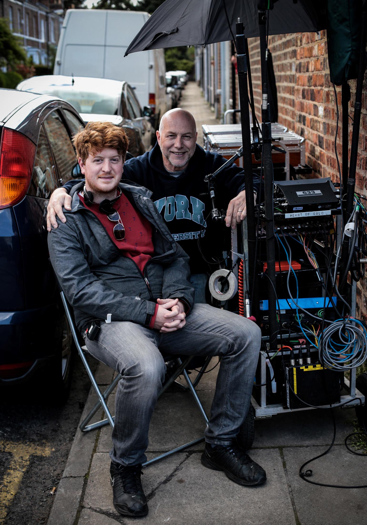Neil Hillman Sound Mixer with Jonny Boom